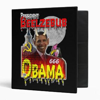 """Duh Prez """"Obama"""" 3 Ring Binder"""