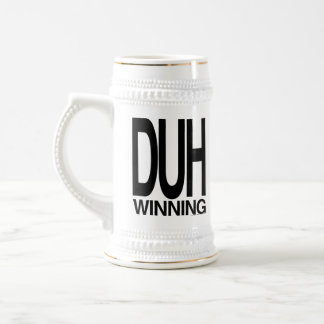 Duh Winning Beer Stein