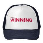 Duh... Winning Mesh Hats
