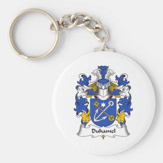Duhamel Family Crest Key Chain