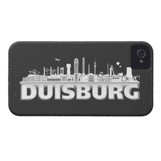 Duisburg city of skyline - Blackberry sleeve iPhone 4 Covers