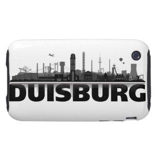 Duisburg city of skyline - iPhone3 sleeve iPhone 3 Tough Case