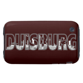 Duisburg city of skyline - iPhone3 sleeve iPhone 3 Tough Cover
