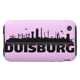 Duisburg city of skyline - iPhone3 sleeve Tough iPhone 3 Covers
