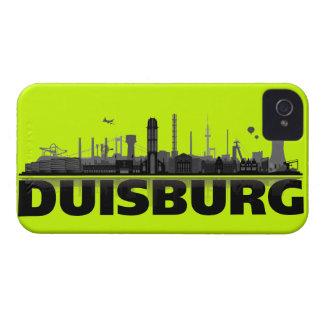 Duisburg city of skyline - iPhone4 sleeve iPhone 4 Cases