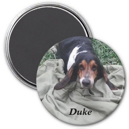 Duke 3 Inch Round Magnet