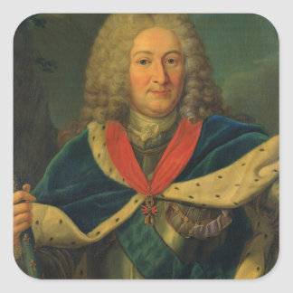 Duke Adrien-Maurice de Noailles Square Sticker