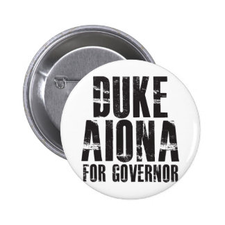 Duke Aiona For Governor 2010 Buttons