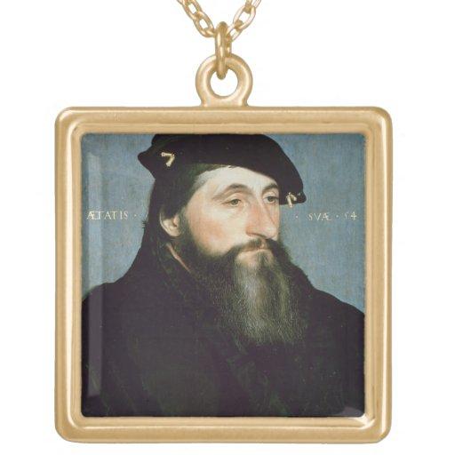 Duke Anton the Good of Lorraine (b.c.1489) c.1543 Square Pendant Necklace