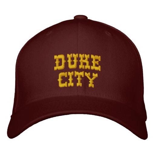 DUKE CITY EMBROIDERED BASEBALL CAP