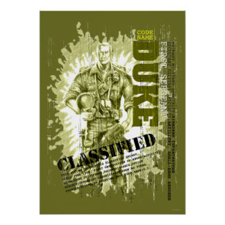 Duke Classified Poster