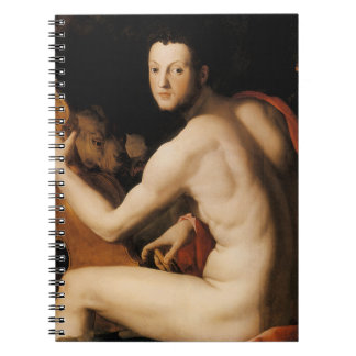 Duke Cosimo I de Medici as Orpheus Notebook