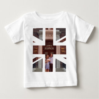 Duke & Duchess Of Cambridge at Lindo Wing 2 Baby T-Shirt
