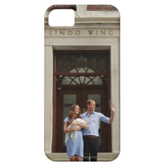 Duke & Duchess Of Cambridge at Lindo Wing 2 iPhone SE/5/5s Case