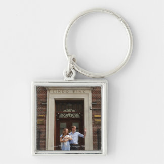 Duke & Duchess Of Cambridge at Lindo Wing 2 Keychain