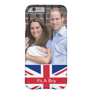 Duke & Duchess Of Cambridge at Lindo Wing Barely There iPhone 6 Case