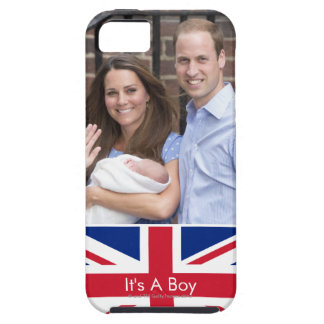 Duke & Duchess Of Cambridge at Lindo Wing iPhone SE/5/5s Case