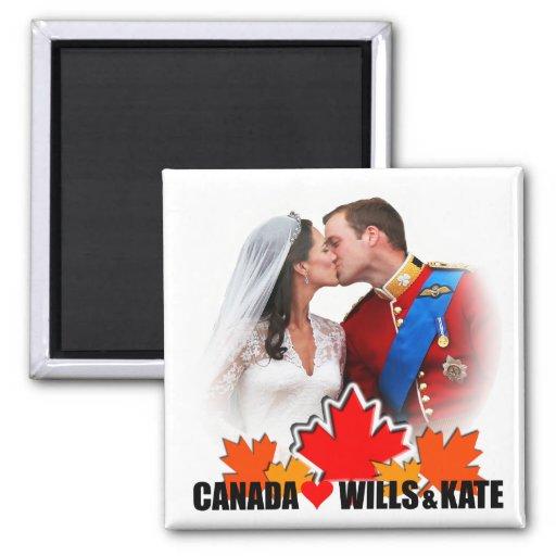 Duke & Duchess of Cambridge Canada Magnet