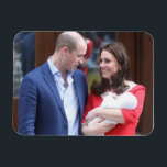"Duke &amp; Duchess Of Cambridge | With Prince Louis Magnet<br><div class=""desc"">The Duchess Of Cambridge departs the Lindo Wing with her new son. Photographer: Chris Jackson.</div>"