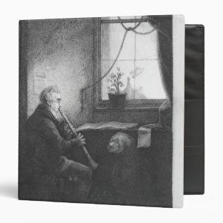 Duke Esterhazy Playing the Clarinet, 1809 Vinyl Binder