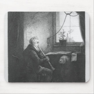 Duke Esterhazy Playing the Clarinet, 1809 Mouse Pad
