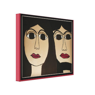 Duke Jesus and Duchess Karyn Wrapped Canvas