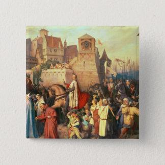 Duke Leopold the Glorious  enters Vienna Button
