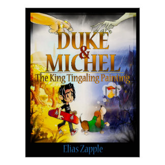 Duke & Michel: The King Tingaling Painting Poster