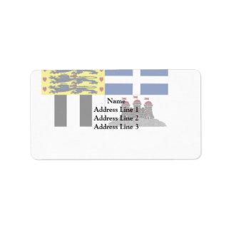 Duke Of Edinburgh, United Kingdom Address Label