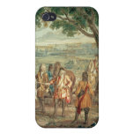 Duke of Marlborough at Fall of Lille in December iPhone 4 Cases