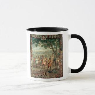 Duke of Marlborough at Fall of Lille in December Mug
