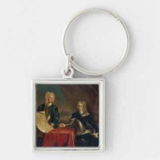 Duke of Marlborough discussing plans Key Chains