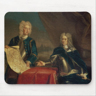 Duke of Marlborough discussing plans Mouse Pad