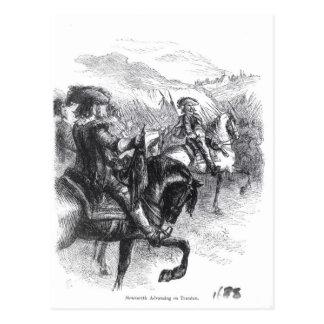 Duke of Monmouth  Advancing on Taunton Postcard