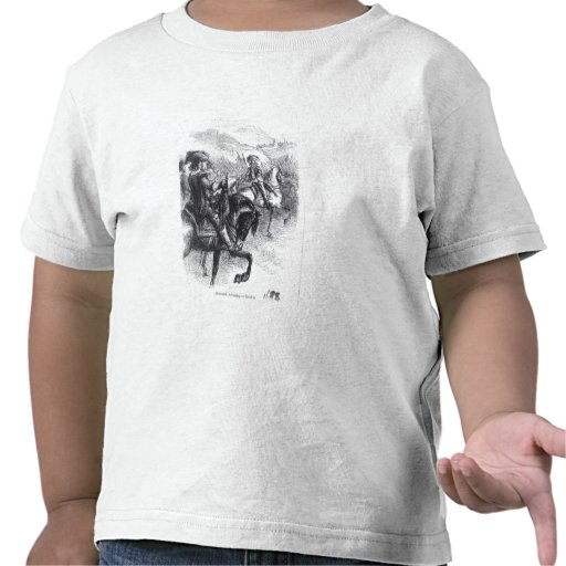 Duke of Monmouth  Advancing on Taunton T-shirt