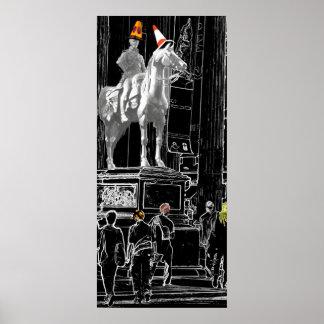 Duke of Wellington at Glasgow GOMA Canvas Print