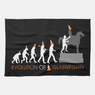 Duke of Wellington's Glasgow Traffic Cone Hat Hand Towel