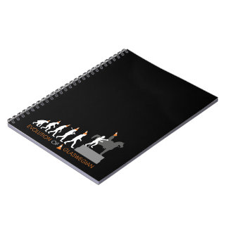 Duke of Wellington's Glasgow Traffic Cone Hat Notebook