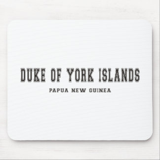 Duke of York Islands Papua New Guinea Mouse Pad