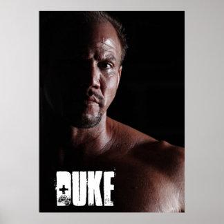 Duke Poster (26in x 36 in)