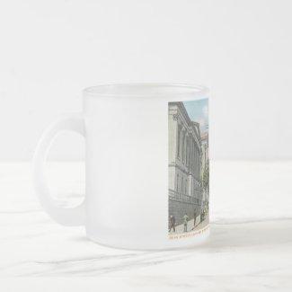 Duke St., Lancaster, Pennsylvania Vintage mug