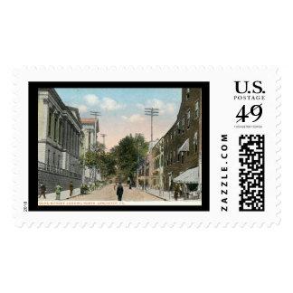 Duke St., Lancaster, Pennsylvania Vintage Postage Stamps