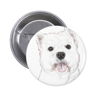 Duke the westie buttons
