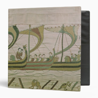 Duke William and his fleet cross the Channel 3 Ring Binder
