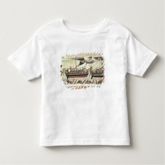 Duke William and his Fleet Cross the Channel to Pe T Shirt