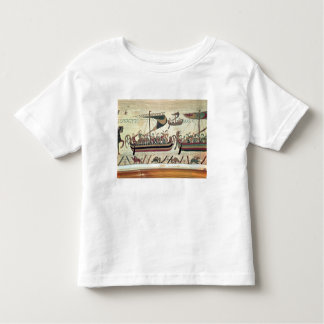 Duke William and his Fleet Cross the Channel to Pe Toddler T-shirt