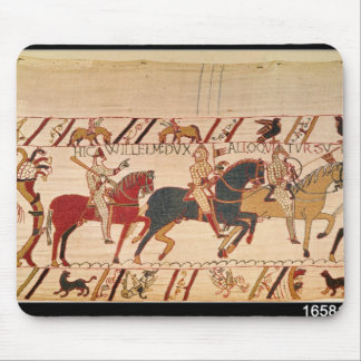 Duke William exhorts his troops Mouse Pad