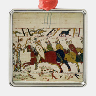 Duke William Exhorts his Troops Christmas Ornament