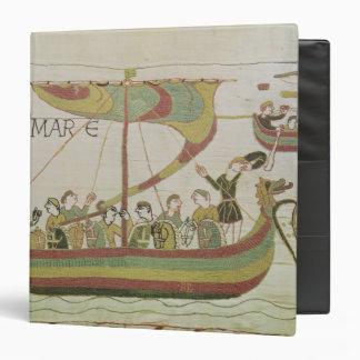 Duke William of Normandy crosses the sea Binder