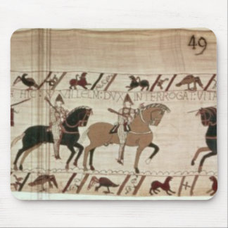 Duke William's knights arrive to do battle Mousepad
